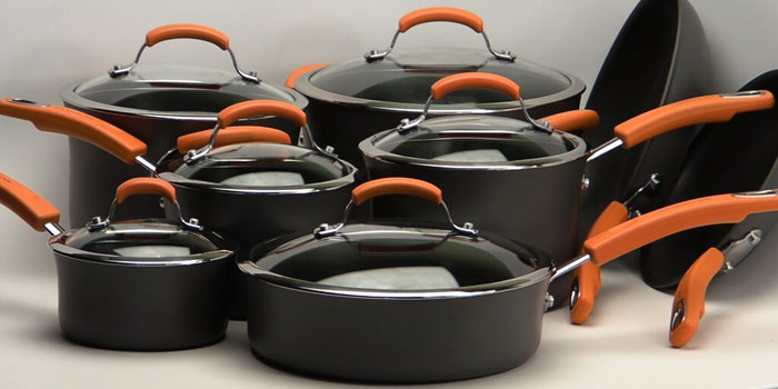 Hard Anodized Aluminium Coated Cookware